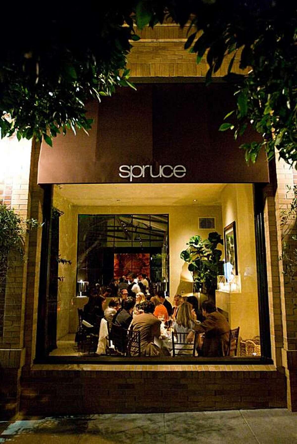 Lawren Howell and Jennifer Siebel Newsom hosted a dinner for renown designer Tommy Hilfiger at Spruce in San Francisco.