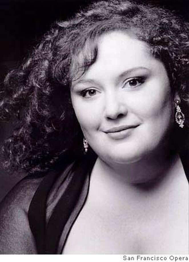 Soprano Heidi Melton Photo: Courtesy San Francisco Opera