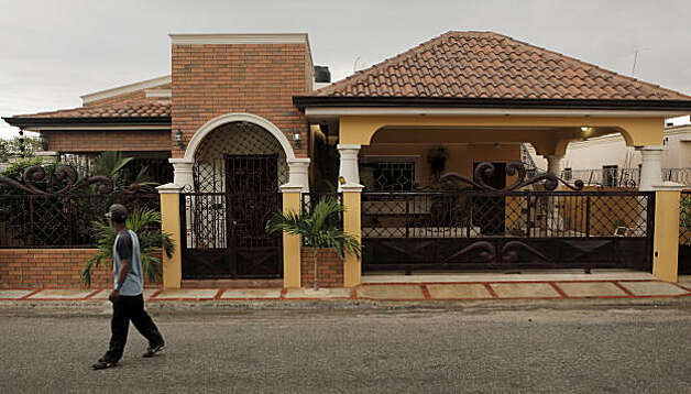 One of Angel Villalona's first acts after signing his multimillion dollar deal was to buy this home for his mother. Photo: Carlos Avila Gonzalez, The Chronicle