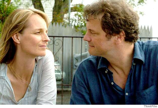 "Helen Hunt and Colin Firth in ""Then She Found Me"" 2008 Photo courtesy of ThinkFilm Photo: ThinkFilm"