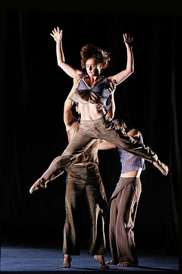 """Margaret Jenkins Dance Company and Guangdong Modern Dance Company bridge cultural barriers in the world premiere of """"Other Suns: A Trilogy"""" at Yerba Buena Center for the Arts. Photo: Lin Xiaoyi"""