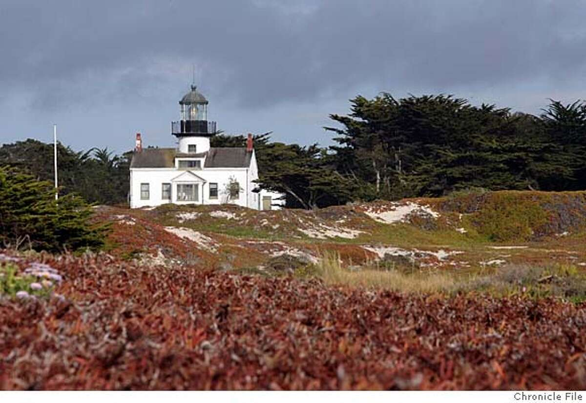 Point Pino Lighthouse in Pacific Grove. The oldest continuously operating lighthouse on the West Coast. Opened Feb 1. 1855. Event on 5/1/07 in Pacific Grove. penni gladstone / The Chronicle