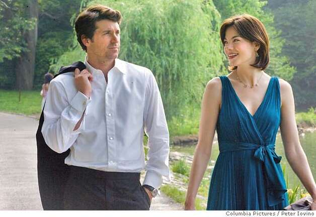 "In this image released by Sony Pictures, Patrick Dempsey, left, and Michelle Monaghan is shown in a scene from ""Made of Honor"" (AP Photo/Sony Pictures, Peter Iovino) ** NO SALES ** Photo: Peter Iovino"