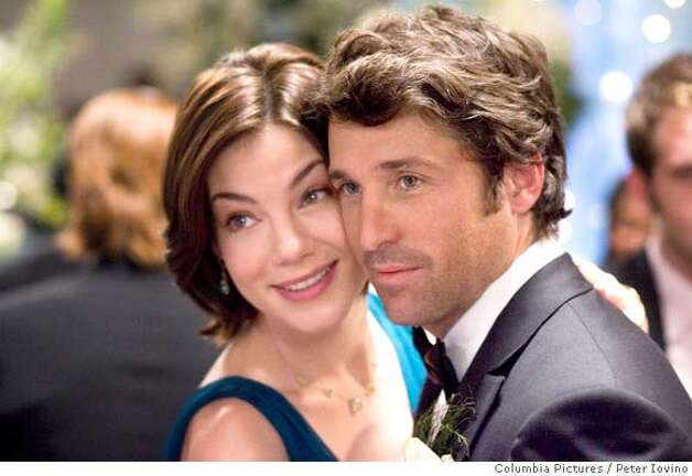 "Tom (Patrick Dempsey, right) decides to accept his best friend Hannah's (Michelle Monaghan, left), invitation to be her maid of honor, but only so he can win her heart and stop the wedding before it's too late in Paul Weiland's ""Made of Honor."" Photo By: Peter Iovino  In Columbia Pictures' Made of Honor, when Tom's (Patrick Dempsey, right) best friend, Hannah (Michelle Monaghan, left), asks him to be her maid of honor, Tom accepts - but only so he can woo the bride-to-be and attempt to stop the wedding before it's too late. The film is directed by Paul Weiland. The screenplay is by Adam Sztykiel and Deborah Kaplan & Harry Elfont. The story is by Adam Sztykiel. The producer is Neal H. Moritz.  Ran on: 04-27-2008  Robert Downey Jr. stars as billionaire industrialist Tony Stark, who builds a high-tech suit of armor and vows to save the world, in Jon Favreau's &quo;Iron Man,&quo; opening Friday at Bay Area theaters. Photo: Peter Iovino Peter Iovino"