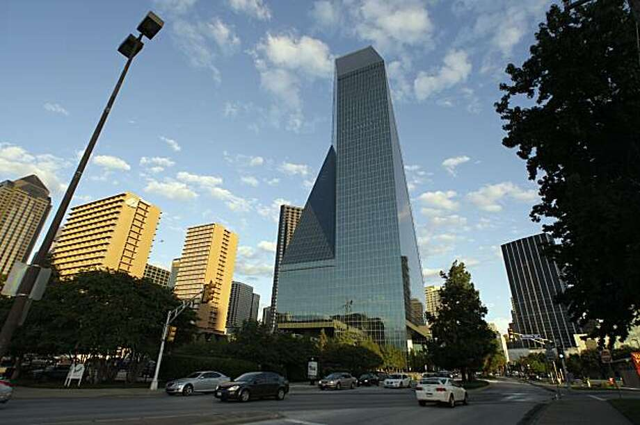 Fountain Place in Dallas: 720 feet, 62 stories Photo: Donna McWilliam, AP