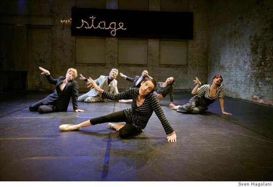"Photo for ""Under the Radar"" at CounterPULSE. Credit: Sven Hagolani  Ran on: 04-30-2008  &quo;Under the Radar&quo; at CounterPULSE won Isadora Duncan Dance Awards in three different categories. Photo: Sven Hagolani"