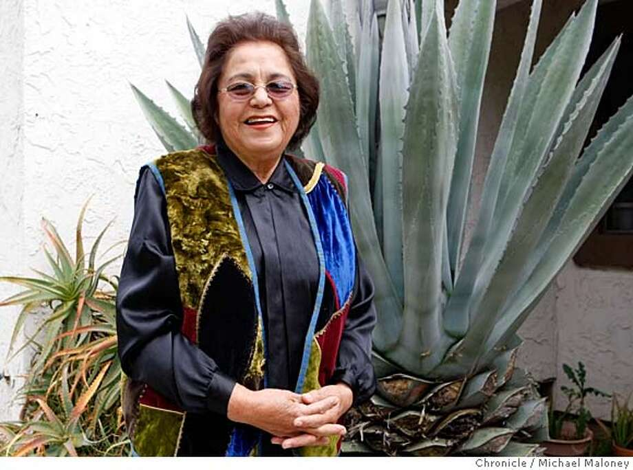 ###Live Caption:Luisa Perez of Campbell, Calif., has been a 24 year volunteer with the National Alliance on Mental Illness of Santa Clara, which provides support and outreach to the Latino community. She is a recipient of the Jefferson Award for her work and was photographed outside her home on April 23, 2008.  Photo by Michael Maloney / San Francisco Chronicle###Caption History:Luisa Perez of Campbell, Calif., has been a 24 year volunteer with the National Alliance on Mental Illness of Santa Clara, which provides support and outreach to the Latino community. She is a recipient of the Jefferson Award for her work and was photographed outside her home on April 23, 2008.  Photo by Michael Maloney / San Francisco Chronicle###Notes:###Special Instructions:MANDATORY CREDIT FOR PHOTOG AND SAN FRANCISCO CHRONICLE/NO SALES-MAGS OUT Photo: Michael Maloney