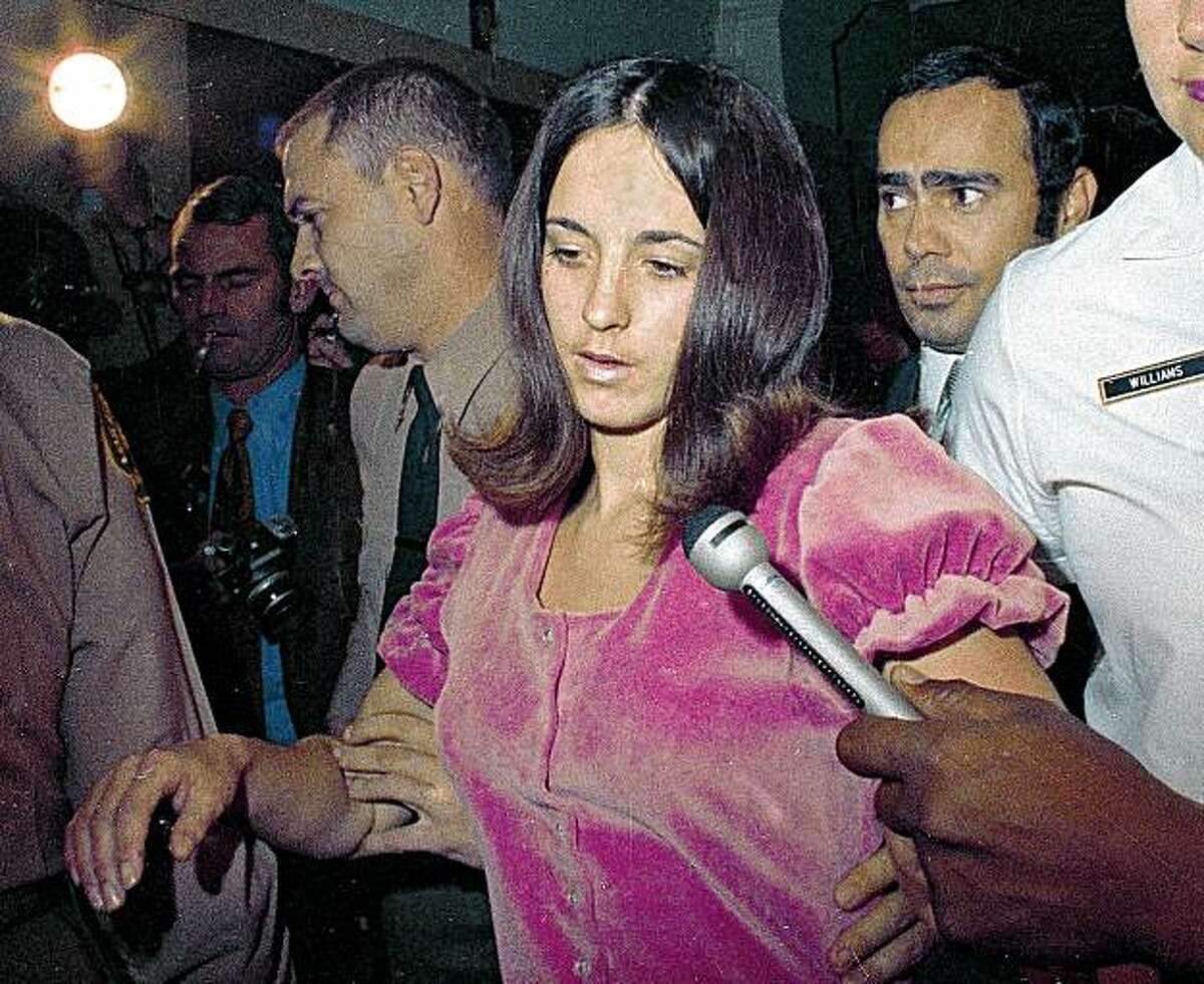 ** FILE ** In this 1969 file photo, Susan Atkins, is shown. Atkins, who admitted killing actress Sharon Tate 40 years ago, has died. She was 61. Atkins died late Thursday night Sept. 24, 2009 at a prison hospital in Chowchilla where she had been moved when she became ill. (AP Photo, File)