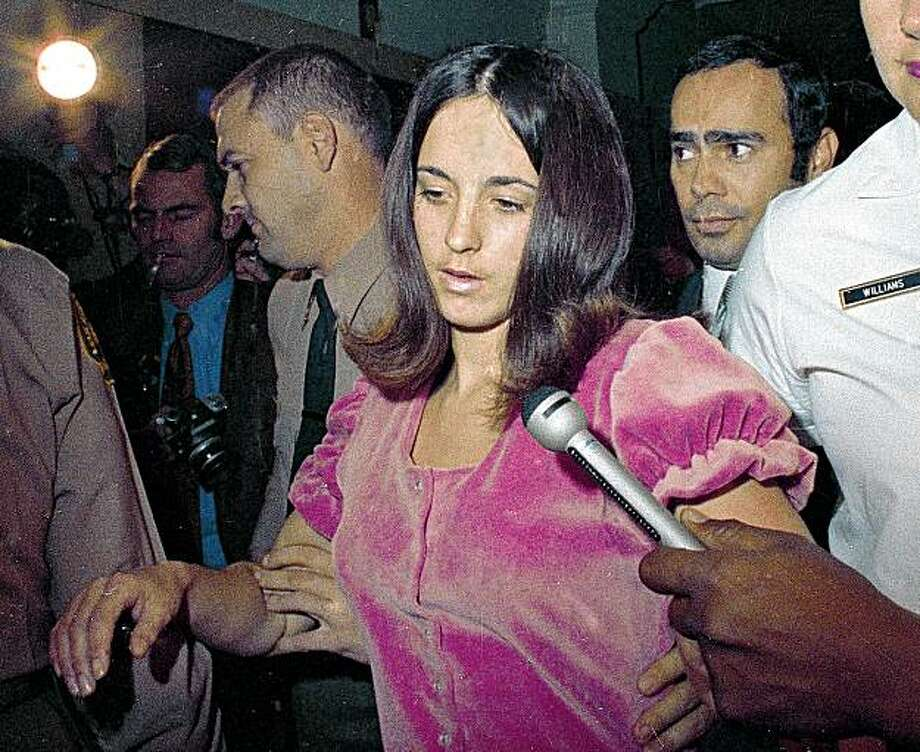 ** FILE ** In this 1969 file photo, Susan Atkins, is shown. Atkins, who admitted killing actress Sharon Tate 40 years ago, has died. She was 61. Atkins died late Thursday night Sept. 24, 2009 at a prison hospital in Chowchilla where she had been moved when she became ill. (AP Photo, File) Photo: Anonymous, AP