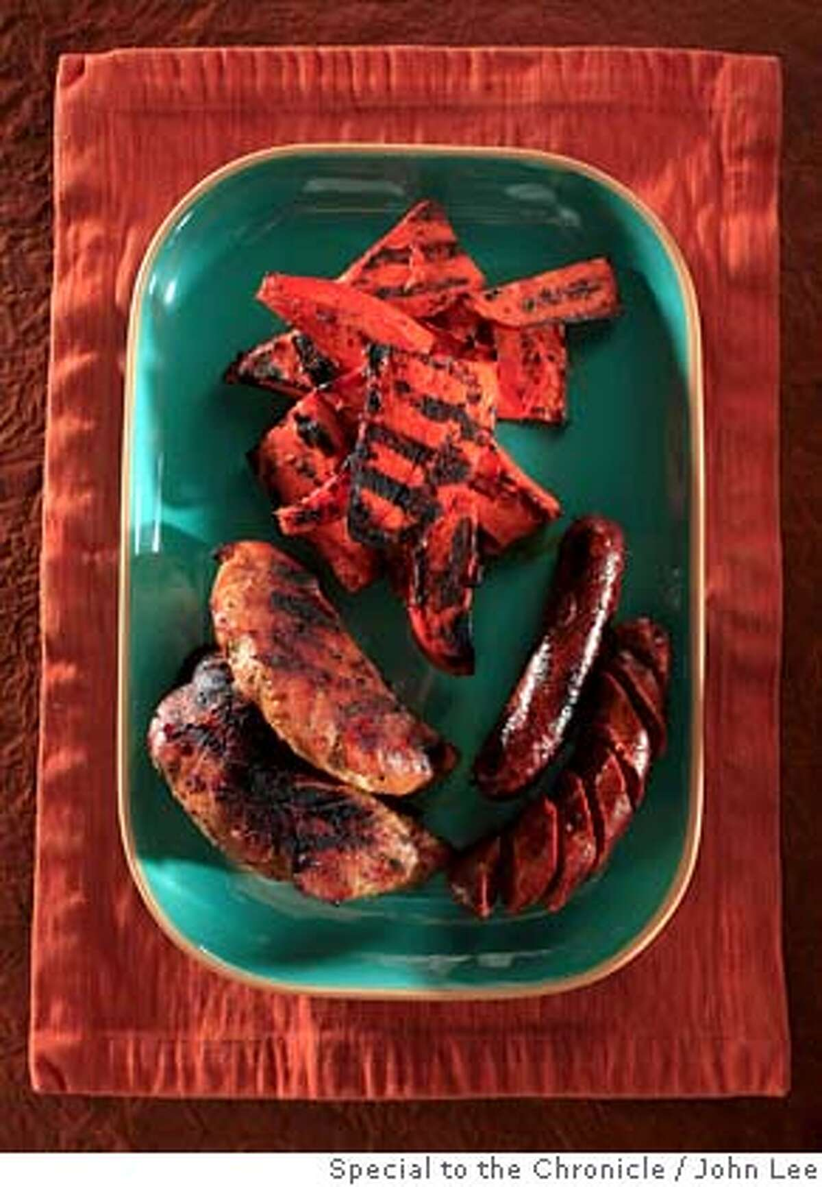 ###Live Caption:TURKEY_JOHNLEE.JPG APRIL 24, 2008: Grilled turkey dish. BY JOHN LEE / SPECIAL TO THE CHRONICLE###Caption History:TURKEY_JOHNLEE.JPG APRIL 24, 2008: Grilled turkey dish. BY JOHN LEE / SPECIAL TO THE CHRONICLE###Notes:###Special Instructions:
