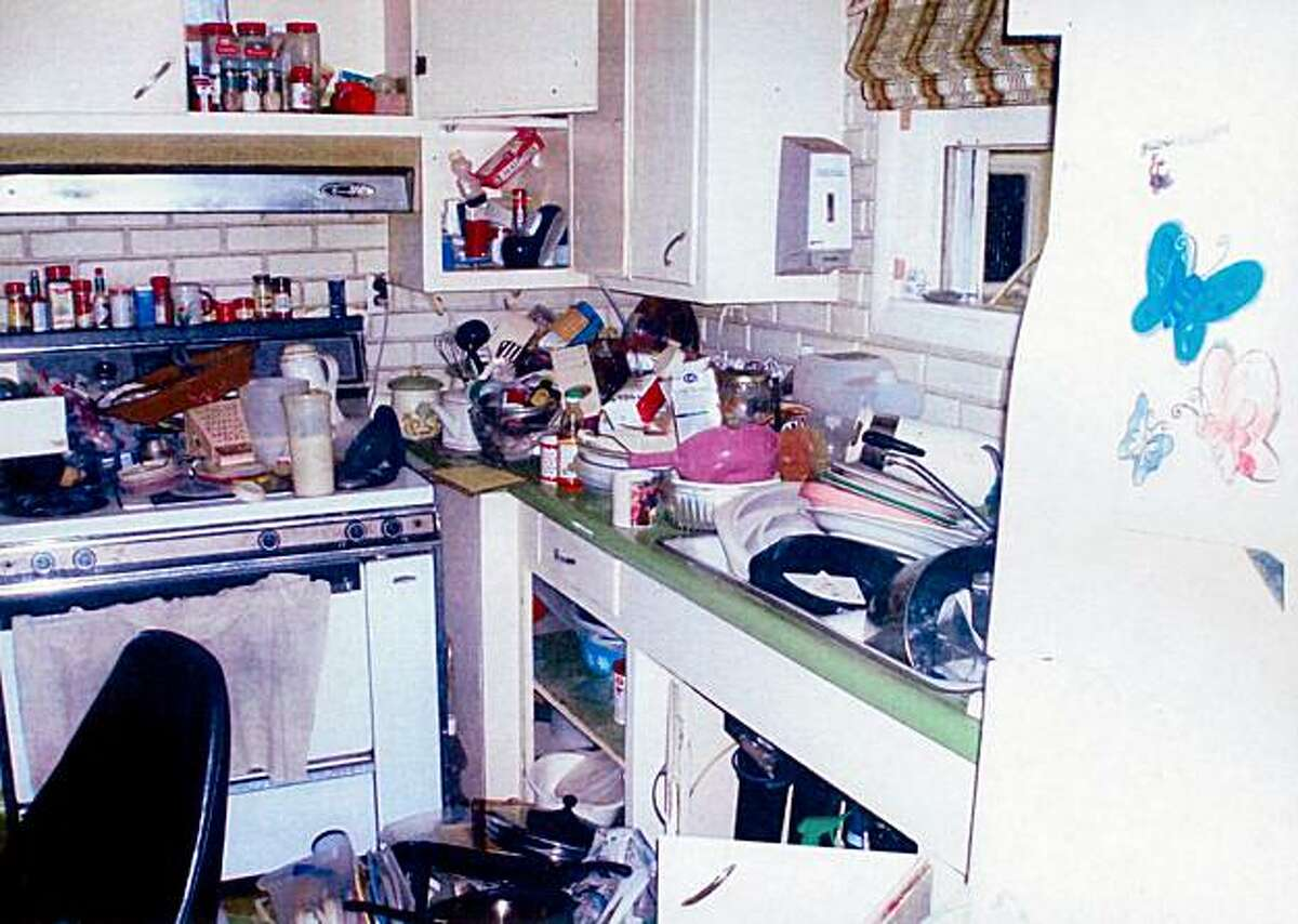 This Aug. 31st photo taken by inspectors and provided by Contra Costa County Department of Conservation & Development Building Inspection Division shows the inside of Phillip and Nancy Garrido's home in Antioch.