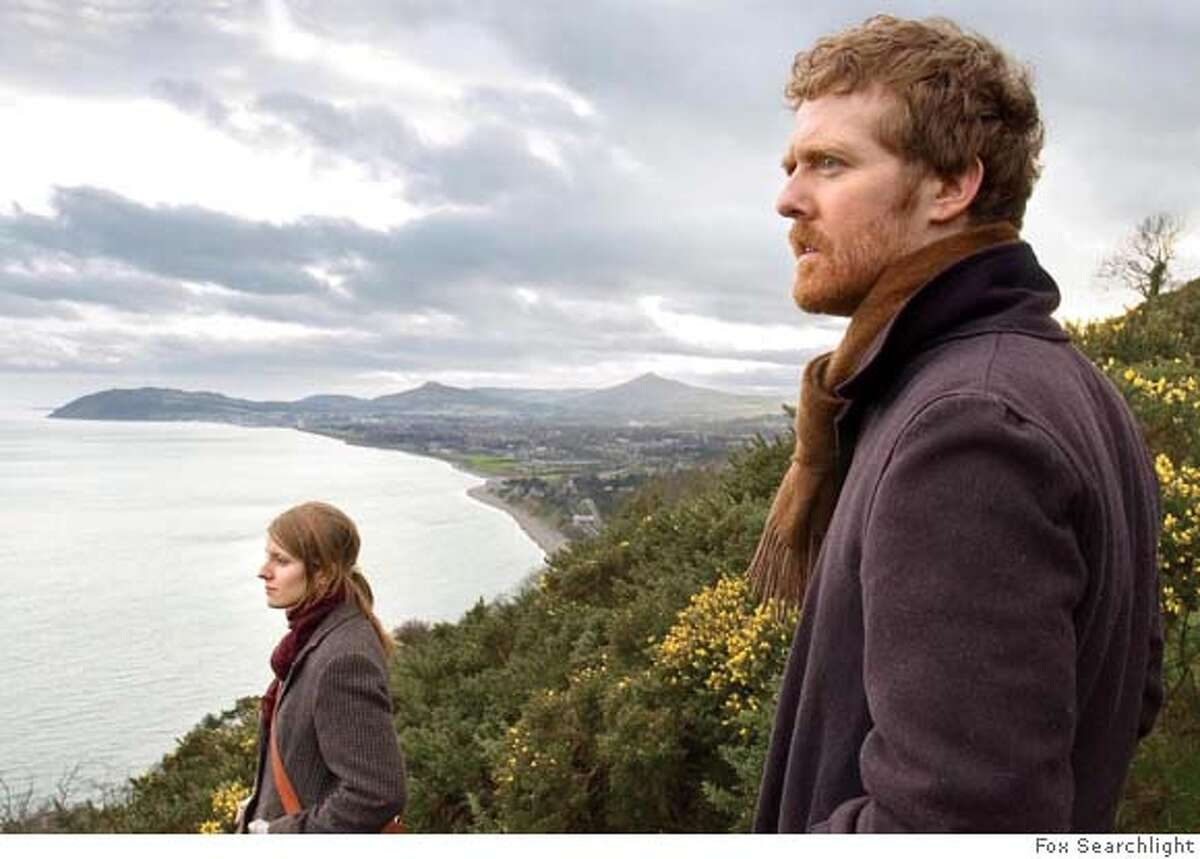 From Left: Marketa Irglova and Glen Hansard in ONCE Photo courtesy Fox Searchlight Ran on: 08-31-2007 Once, starring Marketa Irglova and Glen Hansard, cost $150,000 to make and has earned more than $7.5 million.