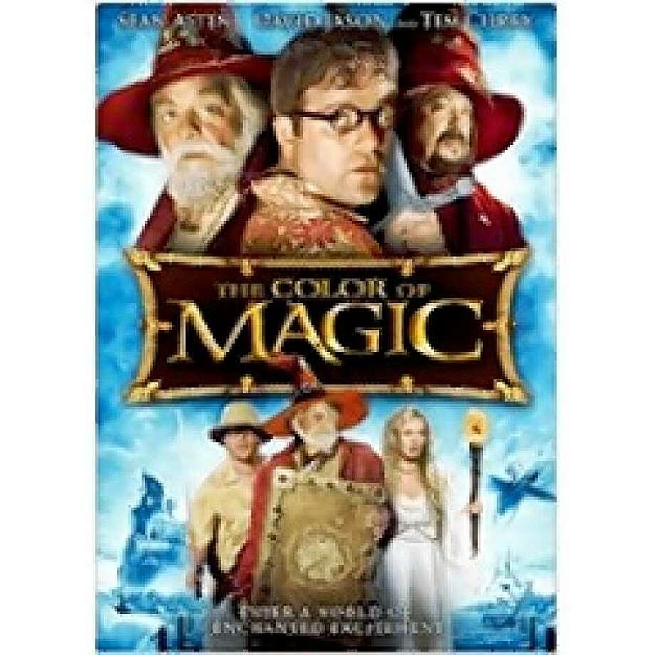 dvd cover COLOR OF MAGIC Photo: Amazon.com