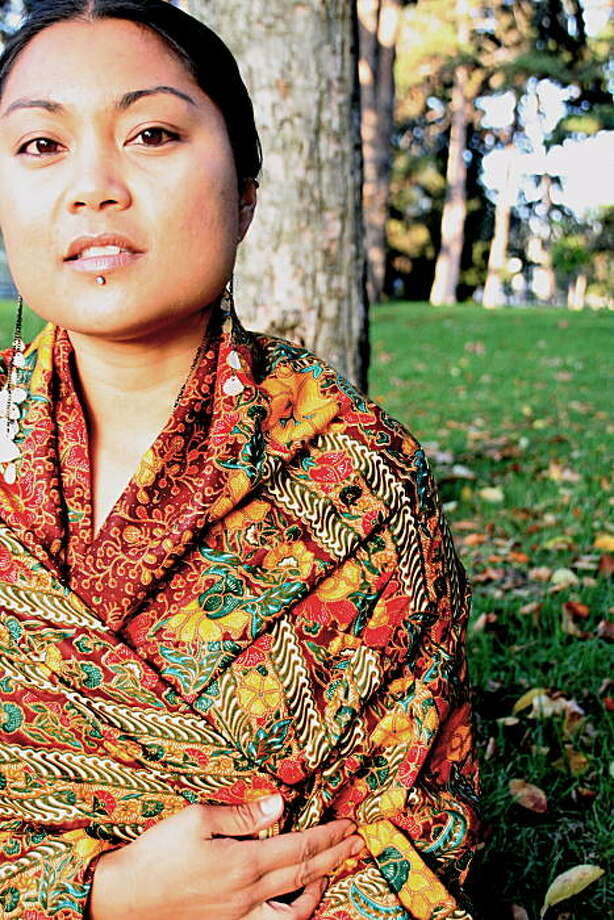 Oakland-based Filipino-American writer/performer Aimee Suzara is a featured artist in Kearny Street Workshop's APAture 2009 festival. Photo: Iman Al-Dabbagh