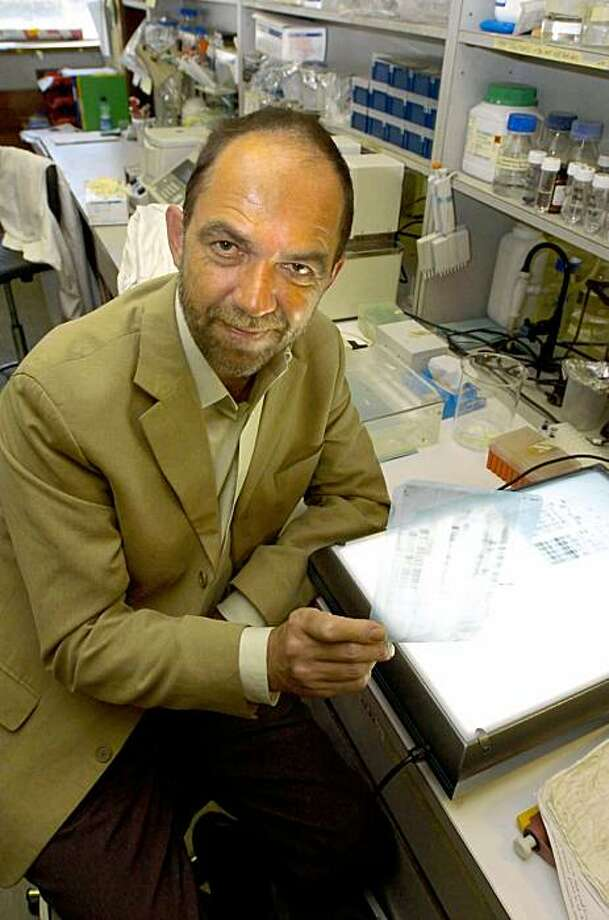 "This is a Sept. 2004 file photo of  British scientist Alec Jeffreys, the man who discovered DNA fingerprinting.  Twenty-five years ago Thursday,  British scientist Alec Jeffreys realized that individuals have ""DNA fingerprints,"" unique patterns of genetic material that can be used to identify them. The discovery has solved thousands of crimes, put murderers behind bars, split and reunited families _ and launched a fierce debate about privacy and human rights.  On the anniversary of his discovery, Jeffreys worried that police are using a database of DNA samples taken from suspects to brand innocent people ""future criminals.""  (AP Photo/Rui Vieira/PA/file)  **  UNITED KINGDOM OUT NO SALES NO ARCHIVE  ** Photo: Rui Vieira, AP"