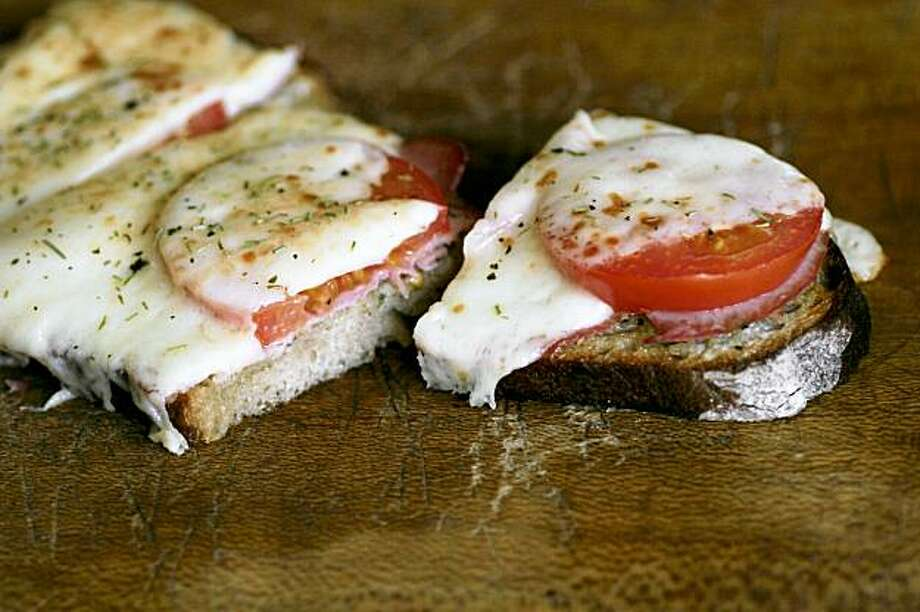 South to North recipe for Bistro Sandwich on Poilane Bread Photo: Robert McMahan