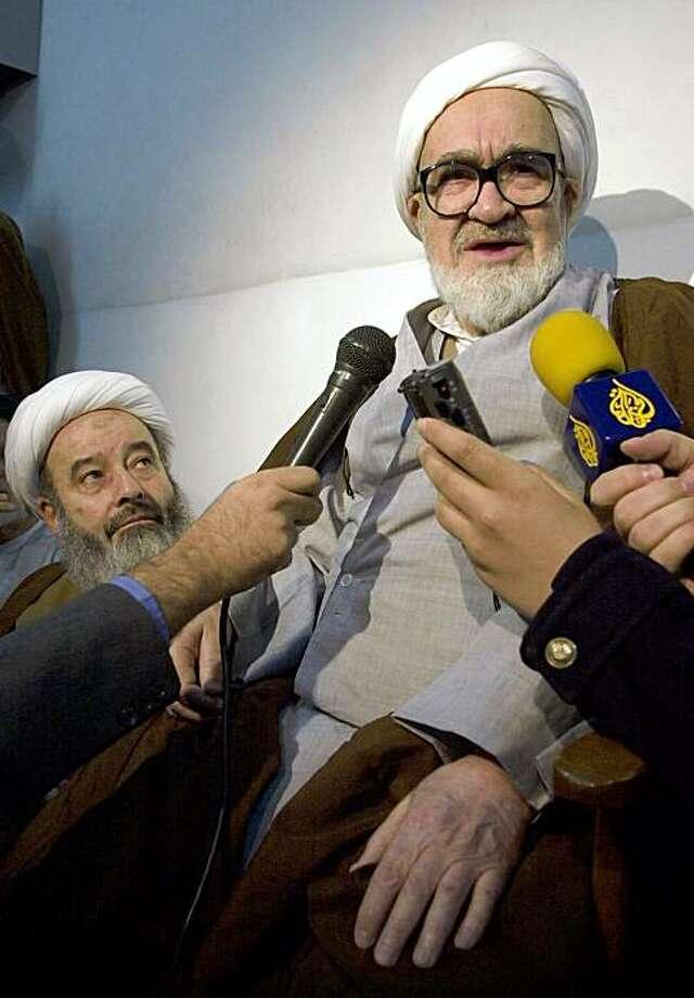 Photo: Vahid Salemi, AP