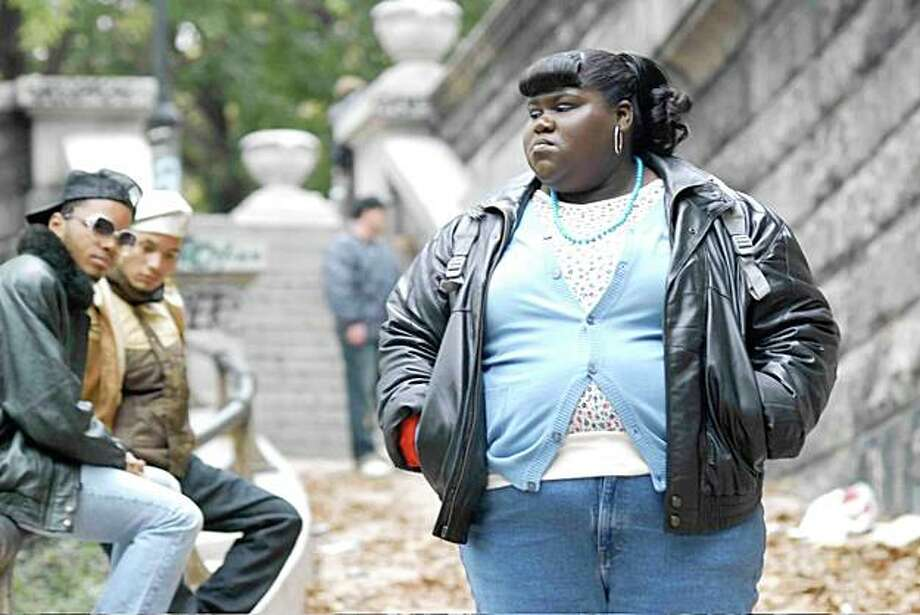 "Gabourey Sidibe stars as 'Claireece ""Precious"" Jones' in PRECIOUS: BASED ON THE NOVEL 'PUSH' BY SAPPHIRE. Photo: Anne Marie Fox, Lionsgate"