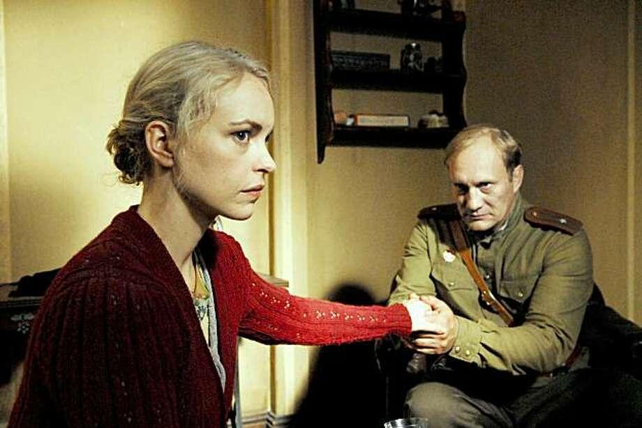 Nina Hoss, Evgeny Sidikhin Photo: Strand Releasing