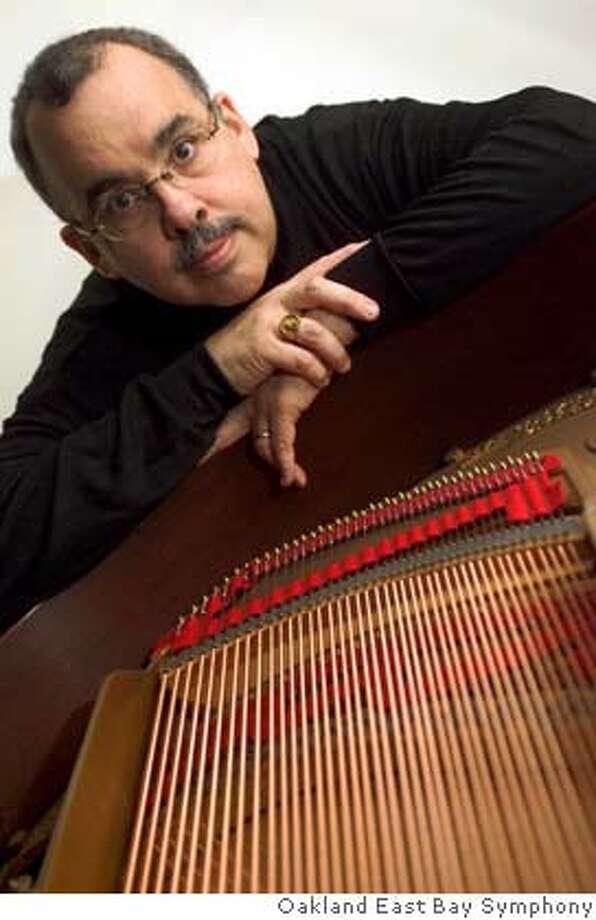 Composer Roberto Sierra Photo: Courtesy Oakland East Bay Sympho