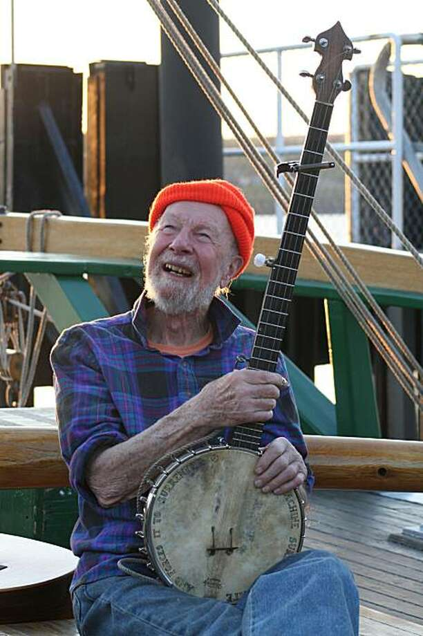 Pete Seeger Photo: Brian Mohan