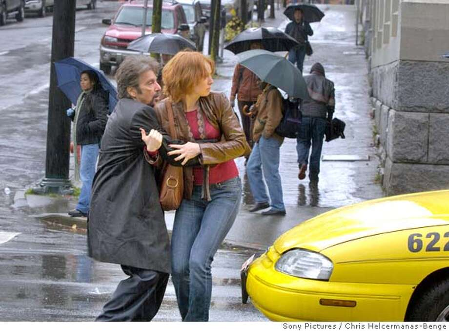 "In this image released by Sony Pictures Entertainment, Al Pacino and Alicia Witt are shown in a scene from the thriller, ""88 Minutes."" (AP Photo/Sony Pictures Entertainment, Chris Helcermanas-Benge) ** NO SALES ** Photo: Chris Helcermanas-Benge"