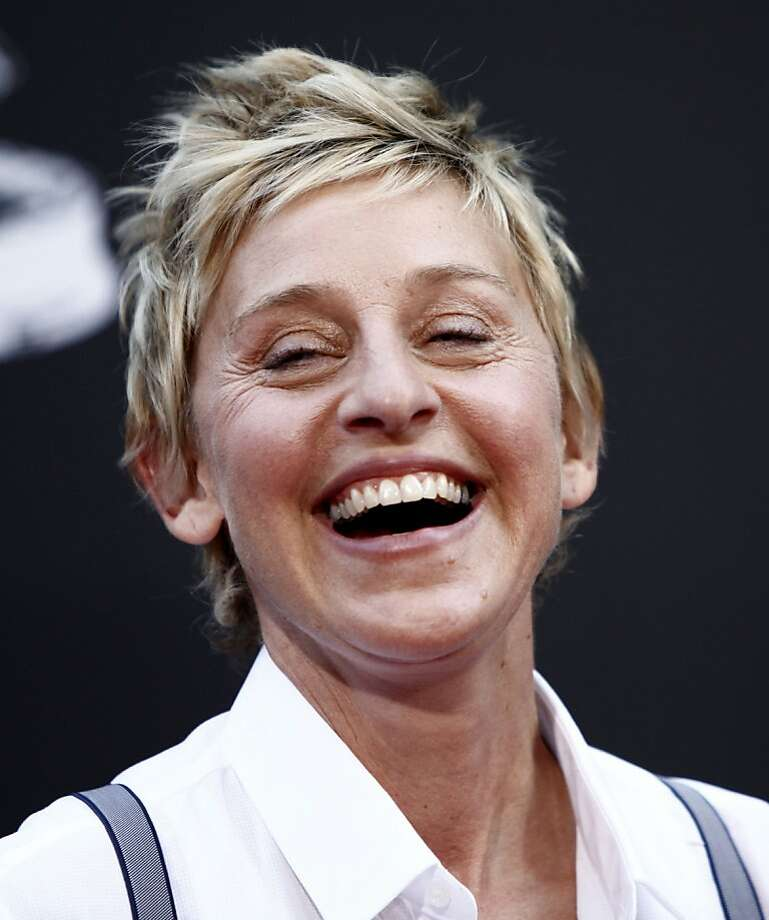 FILE - In this  Aug. 30, 2009 file photo, Ellen DeGeneres arrives at the Daytime Emmy Awards on  in Los Angeles. (AP Photo/Matt Sayles, File) Photo: Matt Sayles, AP
