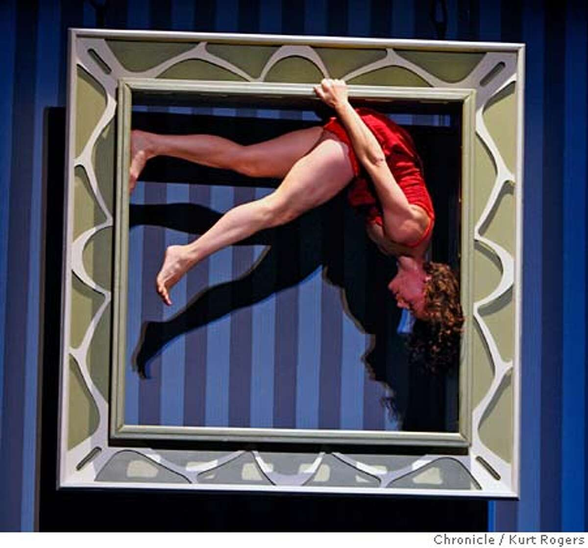 ###Live Caption:Amelia Rudolph in the Rehearsal of The Dance of the Vertical Bandaloop which opens at the Cowell theater in Fort Mason on April 17th. On Thursday April 17, 2008 in San Francisco, Calif Photo By Kurt Rogers / San Francisco Chronicle###Caption History:Amelia Rudolph in the Rehearsal of The Dance of the Vertical Bandaloop which opens at the Cowell theater in Fort Mason on April 17th. On Thursday April 17, 2008 in San Francisco, Calif Photo By Kurt Rogers / San Francisco Chronicle###Notes:Dane of the Vertical at the Cowell theater in Fort Mason###Special Instructions:MANDATORY CREDIT FOR PHOTOG AND SAN FRANCISCO CHRONICLE/NO SALES-MAGS OUT