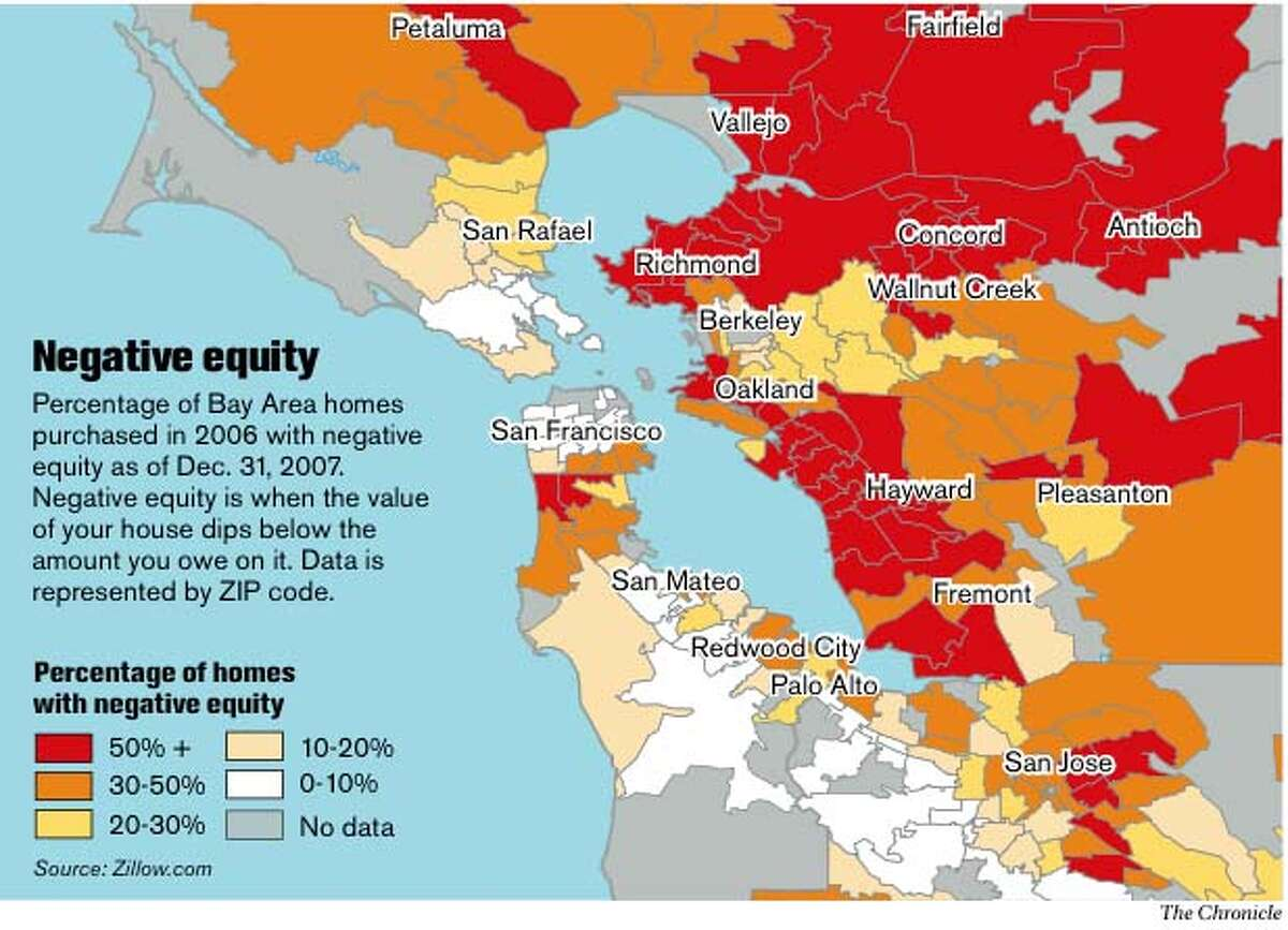 Negative equity. Chronicle Graphic