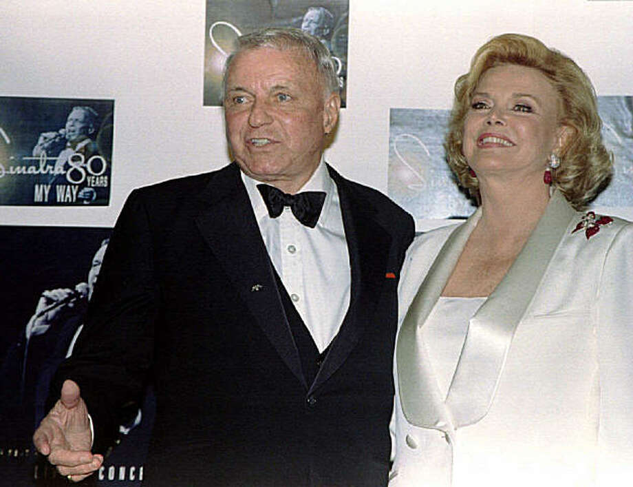 Frank and Barbara Sinatra Photo: Fred Prouser, Reuters