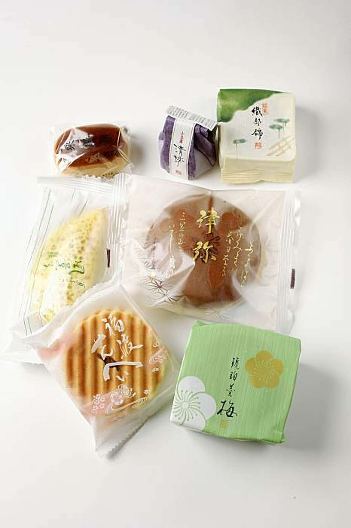 Japanese desserts from Minamoto Kitchen in San Francisco, Calif., on September 2, 2009.