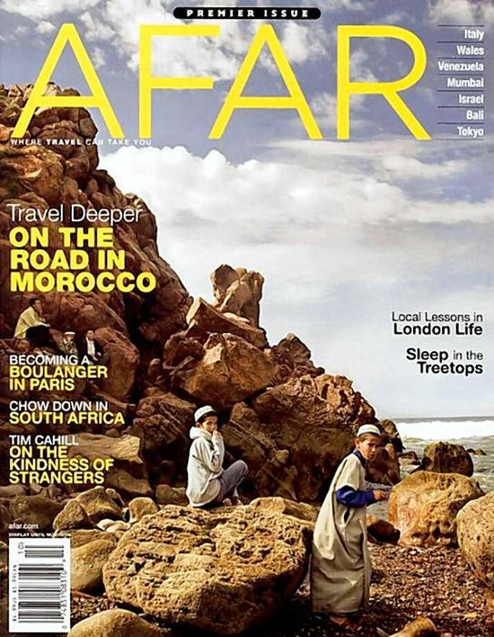 The premier issue of Afar magazine (www.afar.com), which is based in San Francisco. Photo: NA, Afar Magazine