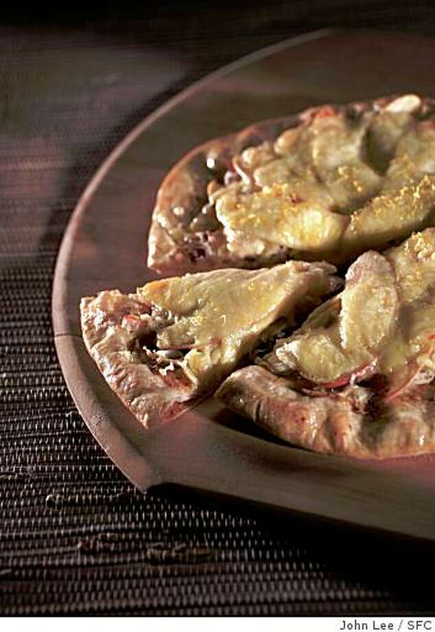 PAIRINGS25_02_JOHNLEE.JPG Smoked Trout and Sauerkraut Pizza.By JOHN LEE/SPECIAL TO THE CHRONICLE Photo: John Lee, SFC