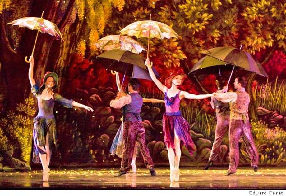 "Dress rehearsal of Oakland Ballet's ""Secret Garden."" Photographed on April 11, 2008 in Oakland, Calif. Photography by Edward Casati  Dress rehearsal of Oakland Ballet's ""Secret Garden."" Photographed on April 11, 2008 in Oakland, Calif. Photography by Edward Casati Photo: Edward Casati"
