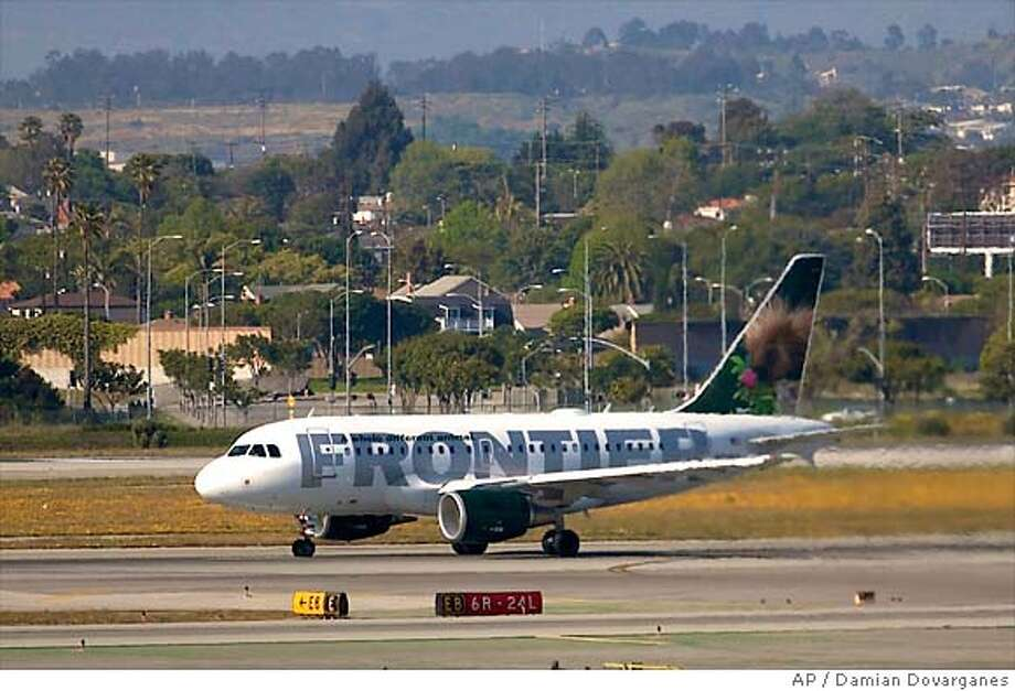 Airline: Frontier AirlinesCancellations: 0.63 percent Photo: Damian Dovarganes