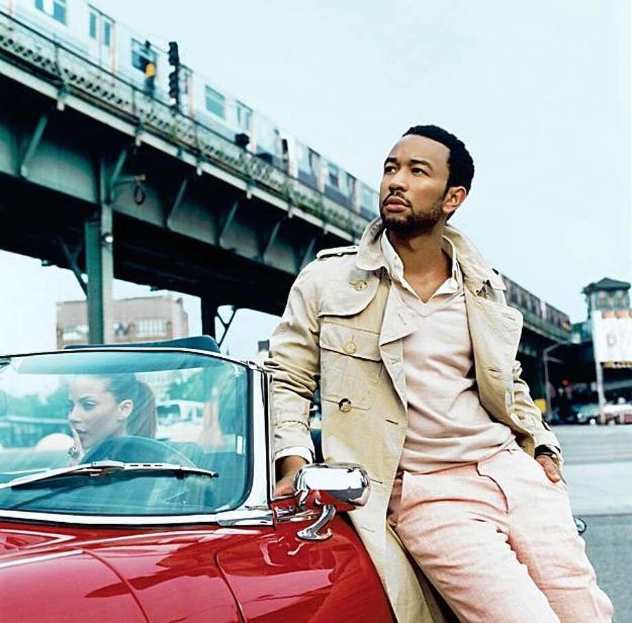 "John Legend is on tour behind his third album, ""Evolver"" Photo: Columbia"