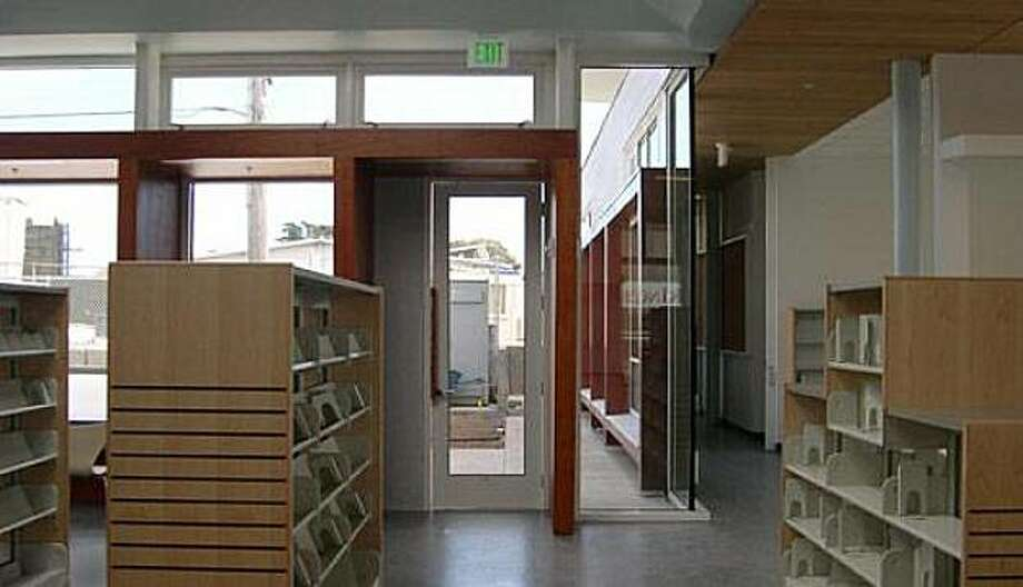 The new Ingleside Library will open Sept. 12 Photo: Ellen Reilly, San Francisco Public Library