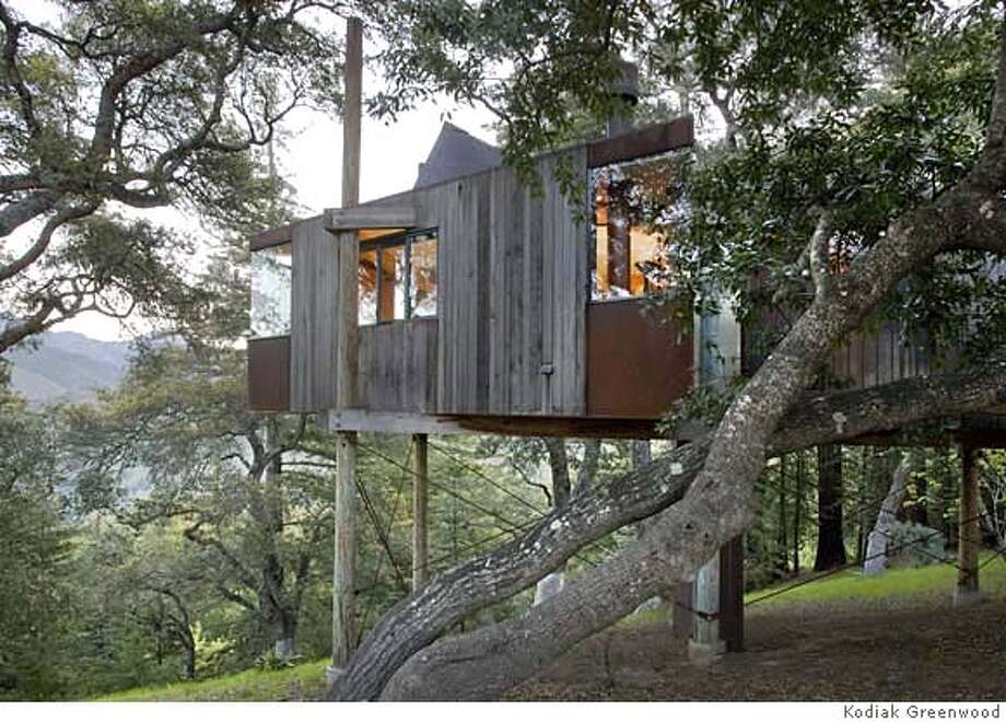 ###Live Caption:Mike Freed spearheaded a new kind of eco-resort at Big Sur in 1991. The tree houses and other earth structures, all organic forms inspired by Frank Lloyd Wright and the natural terrain, still speak top us. well-built, made of materials that wear naturally, they are extremely sustainable and good to the environment. Ten new buildings made along these lines have just opened, in part because the older prototypes worked.###Caption History:Mike Freed spearheaded a new kind of eco-resort at Big Sur in 1991. The tree houses and other earth structures, all organic forms inspired by Frank Lloyd Wright and the natural terrain, still speak top us. well-built, made of materials that wear naturally, they are extremely sustainable and good to the environment. Ten new buildings made along these lines have just opened, in part because the older prototypes worked.###Notes:###Special Instructions: Photo: Kodiak Greenwood