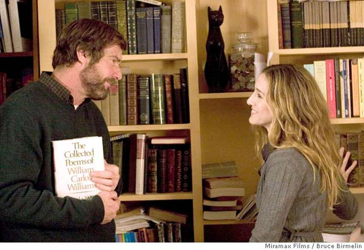 """In this image released by Miramax Films, Dennis Quaid, left, and Sarah Jessica Parker are shown in a scene from the film, """"Smart People."""" (AP Photo/Miramax Films, Bruce Birmelin) ** NO SALES **"""
