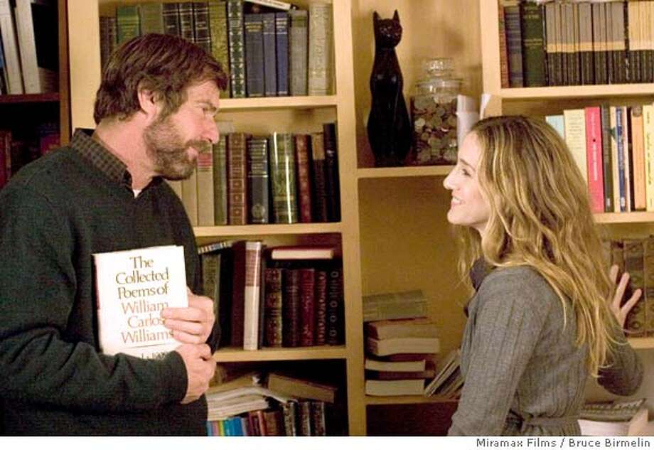 """In this image released by Miramax Films, Dennis Quaid, left, and Sarah Jessica Parker are shown in a scene from the film, """"Smart People."""" (AP Photo/Miramax Films, Bruce Birmelin) ** NO SALES ** Photo: Bruce Birmelin"""