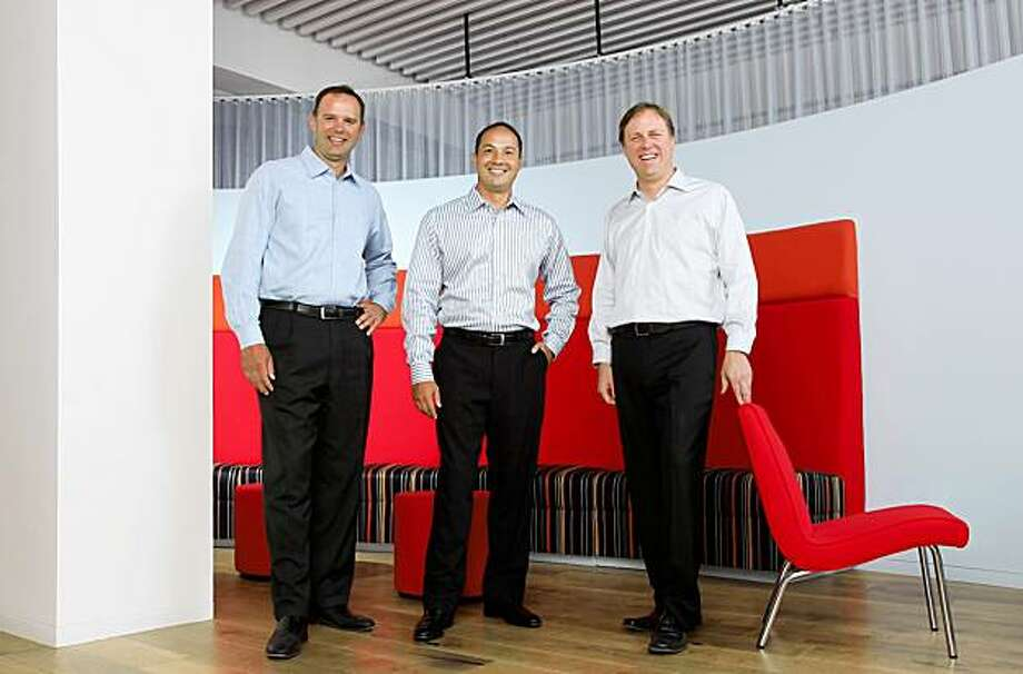 Arne Ericson, Jim Fowler, Robert Williamson, NOVO Founders Photography courtesy of: NOVO   Arne Ericson, one of the founding partners of NOVO Construction, has returned to his position as a key member of the company's management team after an 18-month absence, Photo: Handout