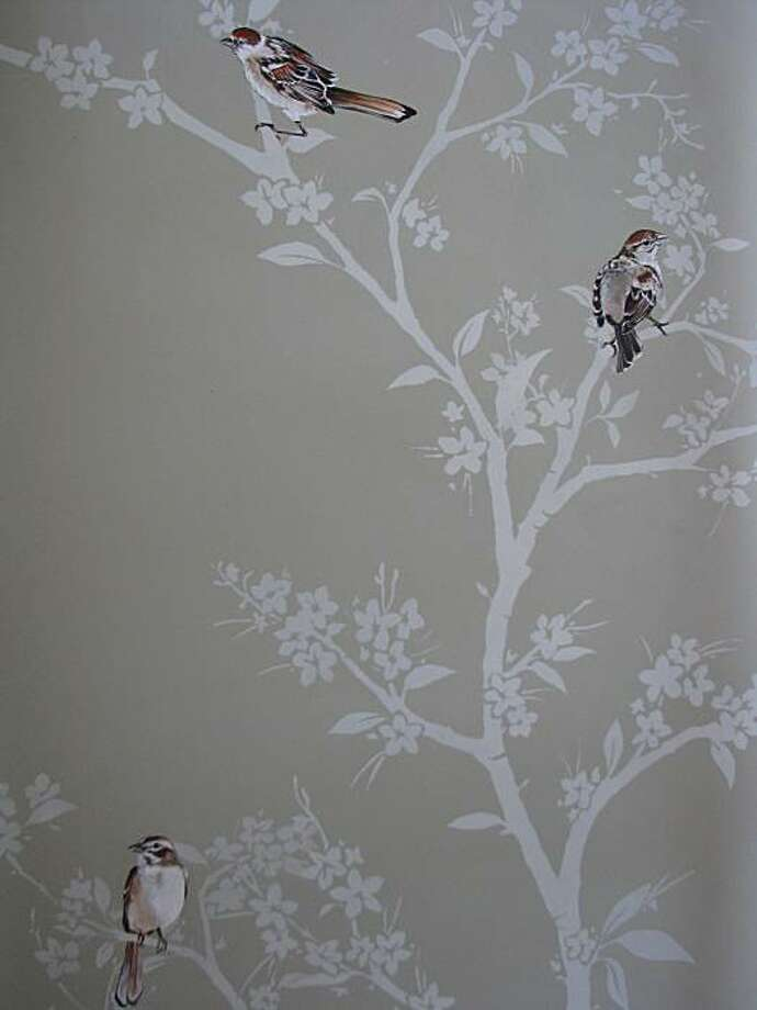 Robinson Finishes wallpaper: sparrow Photo: Robinson Finishes