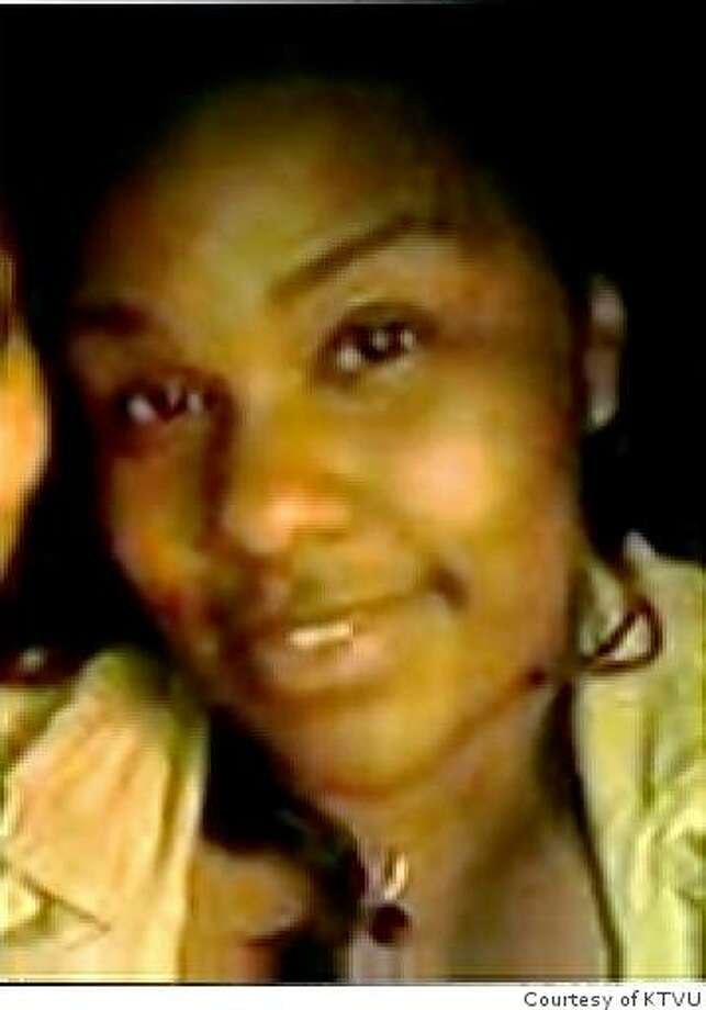 25-year-old Rhonda White from Richmond, Calif., was killed while driving westbound on Interstate 80 in Pinole, Calif. on April 3, 2008. Photo Courtesy of KTVU Photo: Courtesy Of KTVU