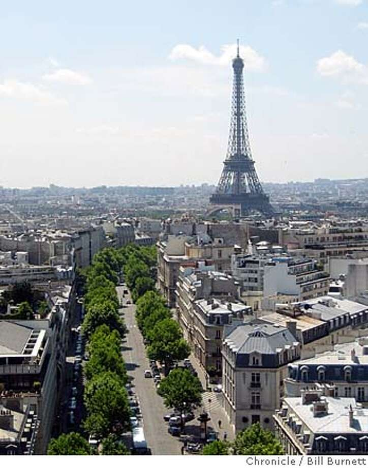 ###Live Caption:Eiffel Tower photographed from top of Arc de Triomphe, Paris. To go with Real Estate story on fractional ownership in Paris.###Caption History:Eiffel Tower photographed from top of Arc de Triomphe, Paris. To go with Real Estate story on fractional ownership in Paris.###Notes:###Special Instructions: Photo: Bill Burnett