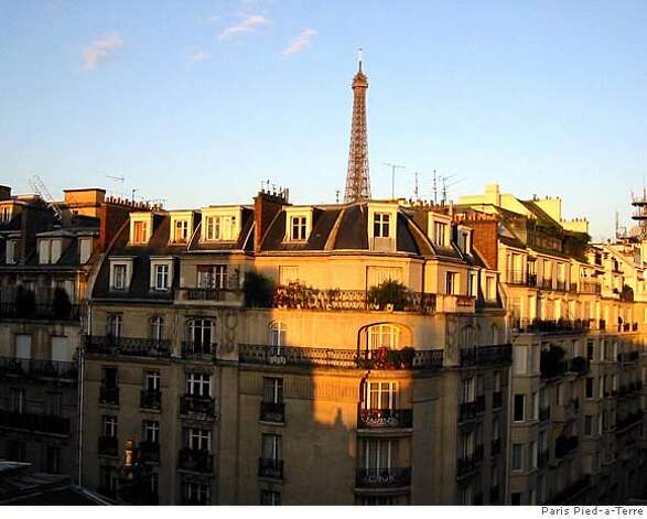 Paris Pied A Terre At A Fraction Of The Cost Sfgate