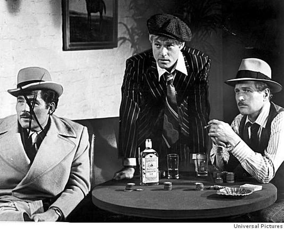 """Robert Redford and Paul Newman in 1973 film """"The Sting"""" directed by George Roy Hill. Photo: Universal Pictures"""