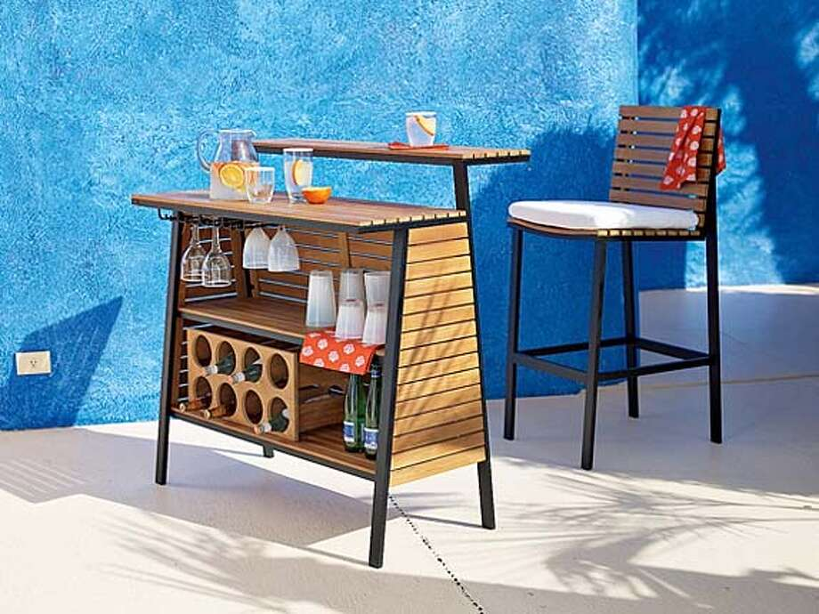 ###Live Caption:The Sydney bar and barstool from West Elm###Caption History:The Sydney bar and barstool from West Elm###Notes:###Special Instructions: Photo: Ho