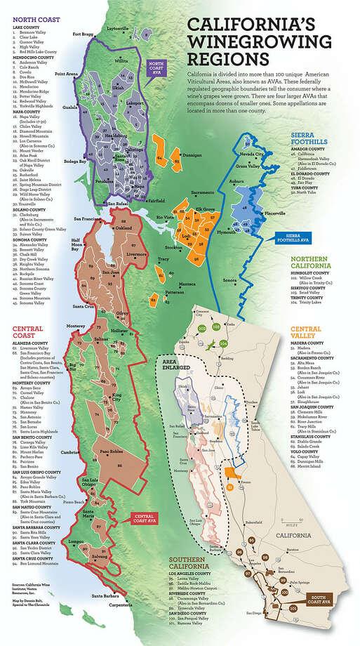 California's winegrowing regions