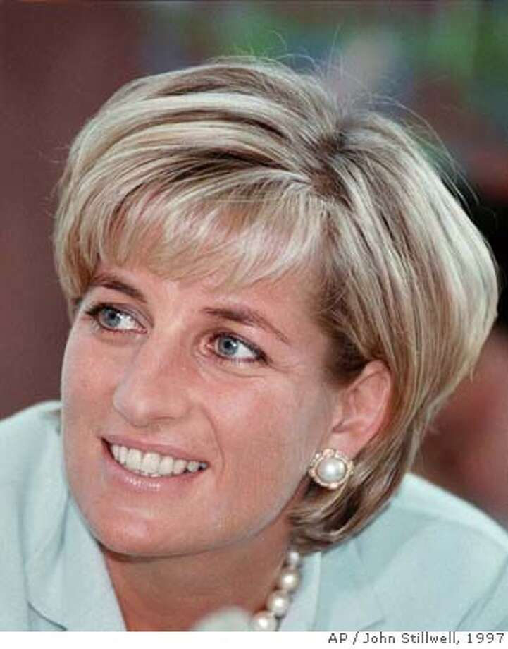 ###Live Caption:** FILE ** Diana, the Princess of Wales during her visit to Leicester in this May 27, 1997 file photo, to formally open The Richard Attenborough Centre for Disability and Arts. A coroner's jury in London, Monday April 7, 2008 has ruled that Princess Diana and boyfriend Dodi Fayed were unlawfully killed through the reckless actions of their driver and the paparazzi in 1997. The jury had been told that a verdict of unlawful killing would mean that they believe the reckless behavior of their driver Henri Paul, and photographers amounts to manslaughter. It was the most serious verdict available to them Monday.(AP Photo/John Stillwell, File, POOL)###Caption History:** FILE ** Diana, the Princess of Wales during her visit to Leicester in this May 27, 1997 file photo, to formally open The Richard Attenborough Centre for Disability and Arts. A coroner's jury in London, Monday April 7, 2008 has ruled that Princess Diana and boyfriend Dodi Fayed were unlawfully killed through the reckless actions of their driver and the paparazzi in 1997. The jury had been told that a verdict of unlawful killing would mean that they believe the reckless behavior of their driver Henri Paul, and photographers amounts to manslaughter. It was the most serious verdict available to them Monday.(AP Photo/John Stillwell, File, POOL)###Notes:Diana, the Princess of Wales###Special Instructions:POOL PHOTO MAY 27, 1997 FILE PHOTO, Photo: JOHN STILLWELL