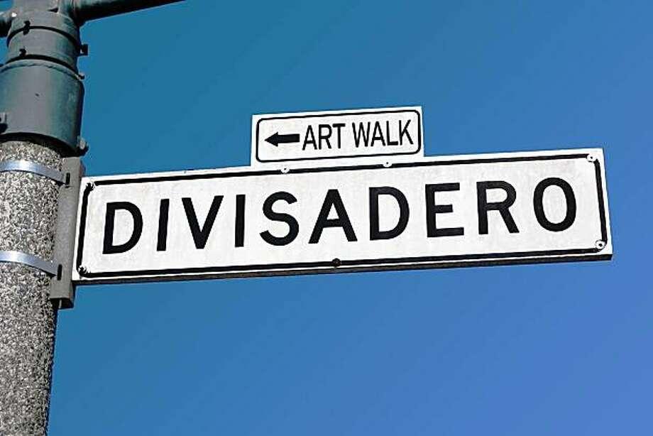 The fifth Divisadero Art Walk takes place on Thursday. Photo: Adriane Kaneshiro